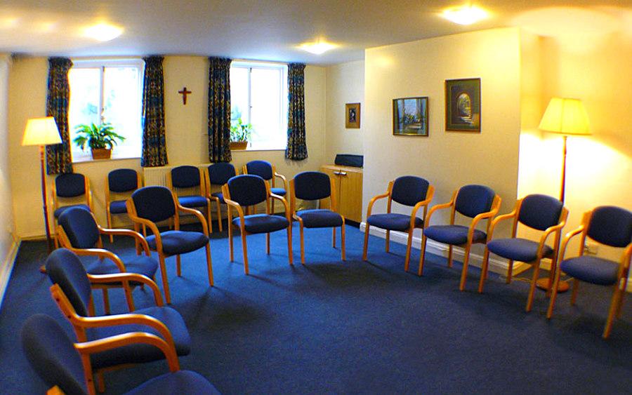 Basement meeting room